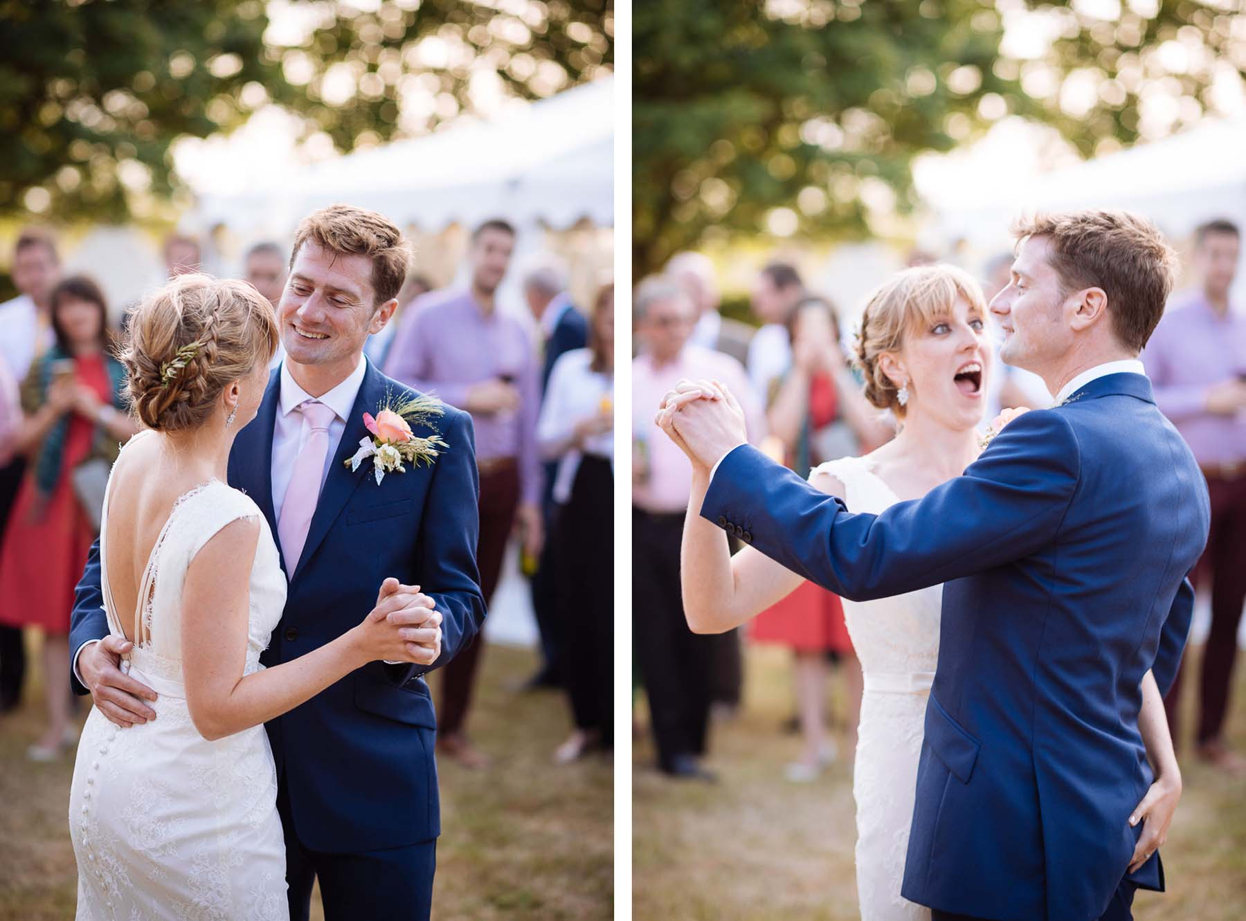 bride-groom-first-dance-at-wedding-outdoors-rural-style-together-dorset-38
