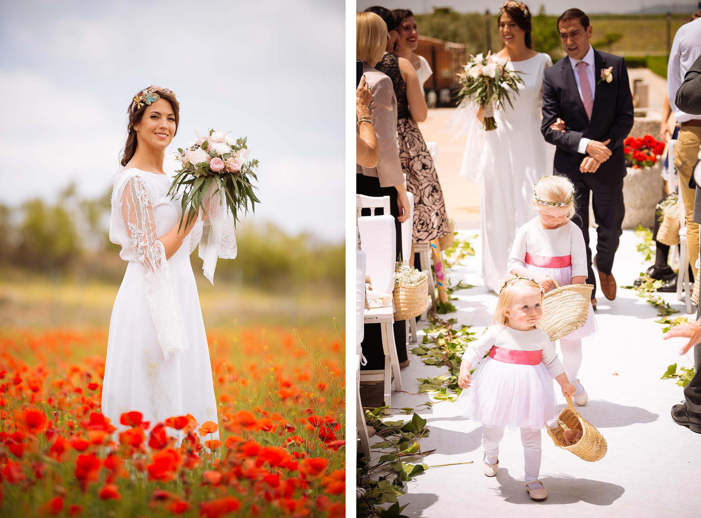 bride-spanish-maria-standing-poppy-field-wedding-day-flower