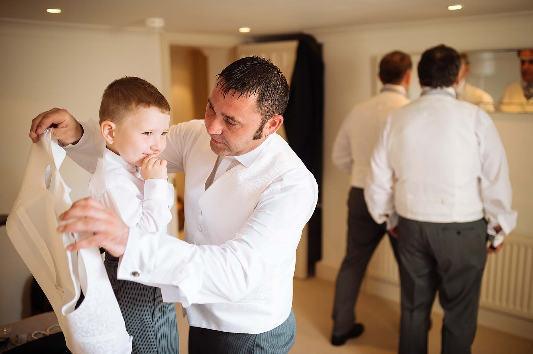 cute-children-moments-at-weddings-father-and-son-dorset-29
