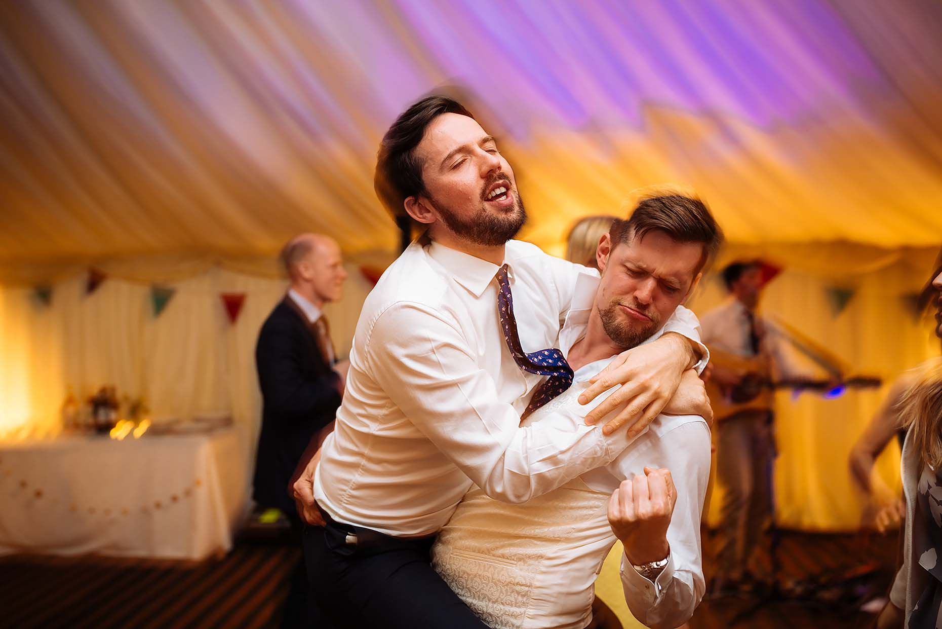 dancefloor-southover-house-dorset-wedding-photographer-bromance-fist-pump-34