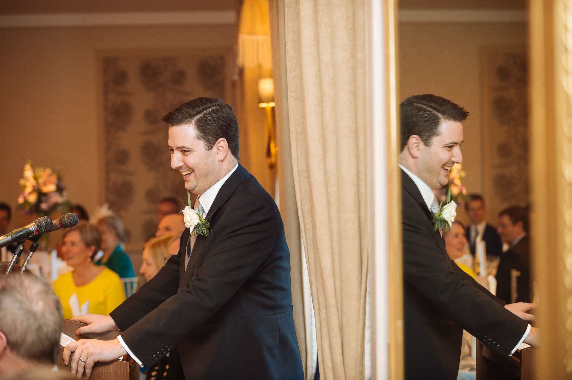 groom-speech-reflection-caledonian-club-wedding-reception-london-venue-16
