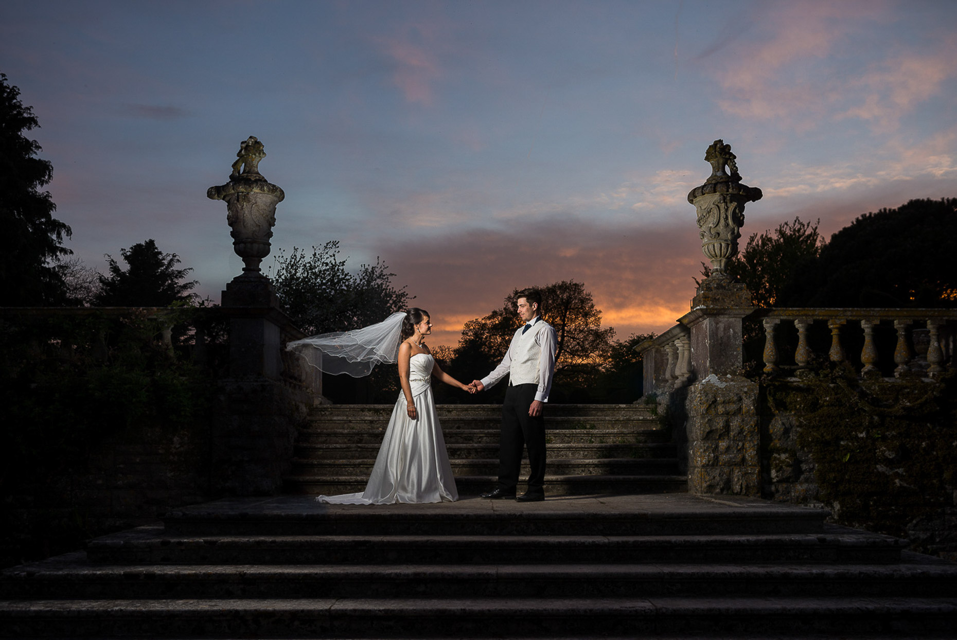 leah-rossi-kingston-maurward-dorset-weddings-twilight-06