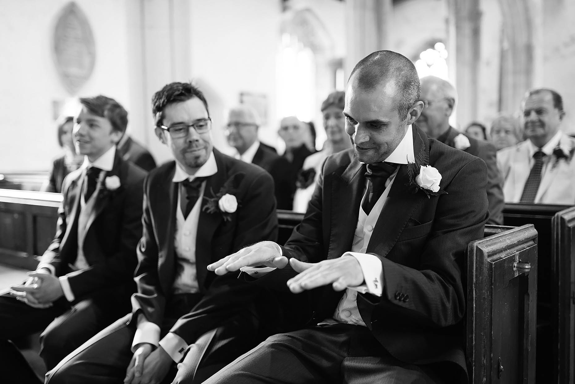 nervous-groom-waiting-at-church-wedding-weymouth-06