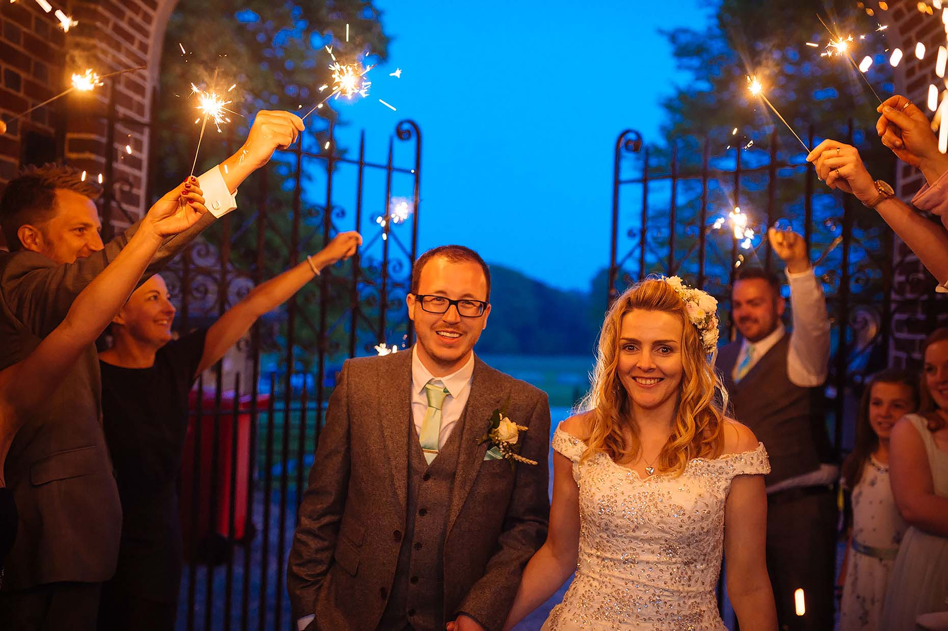 sparklers-dusk-wedding-couple-lulworth-dorset-wedding-photographer-21