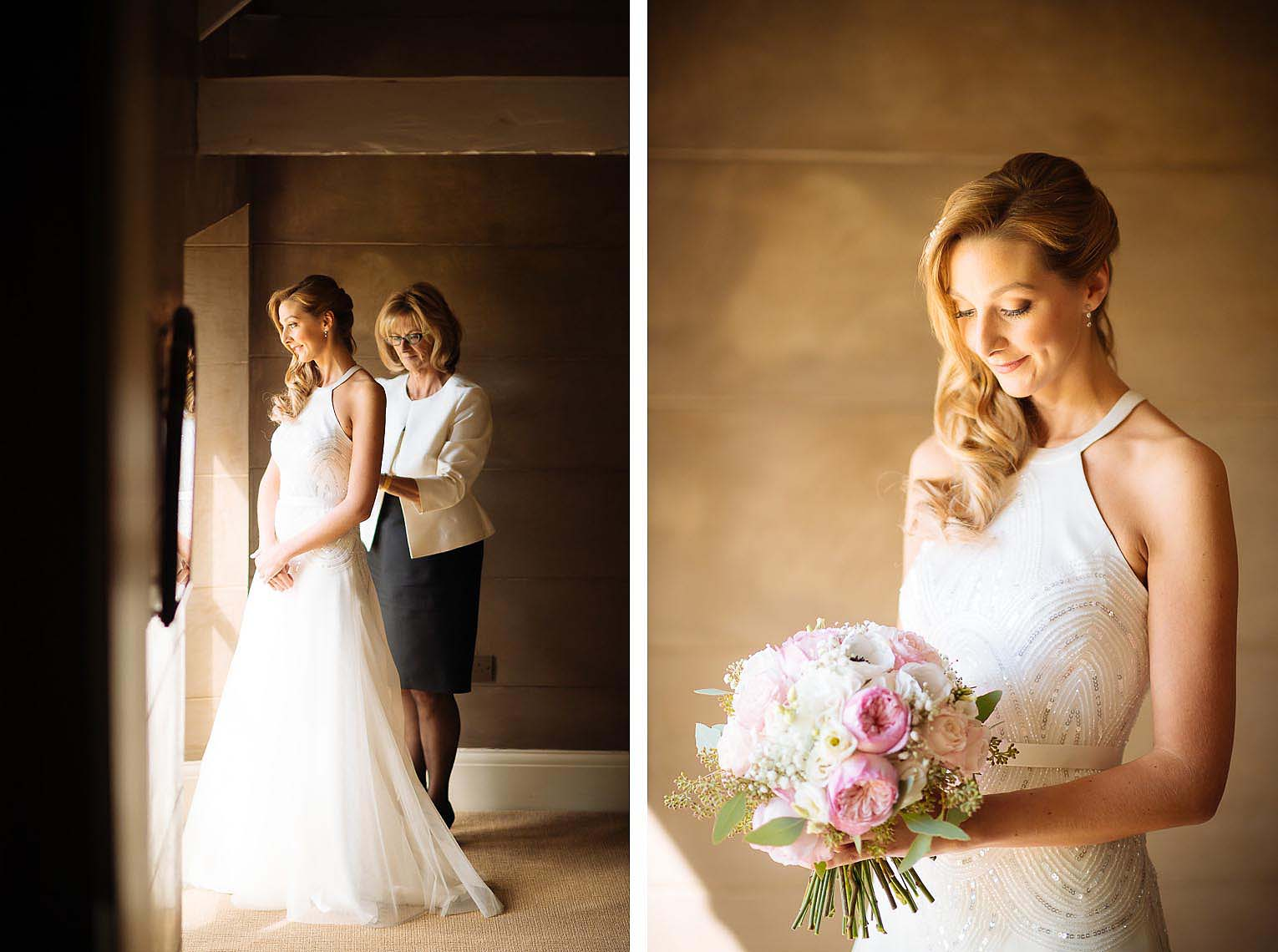 vanessa-bride-dress-ready-wedding-day-dorset-photography-06